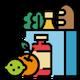 حمل مواد غذایی