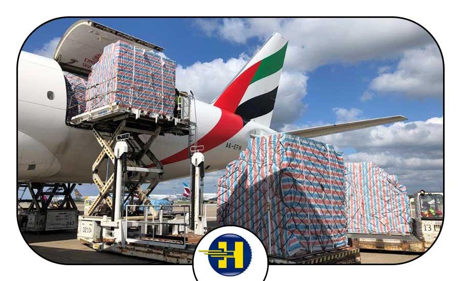 ارسال بار به دبی و حمل هوایی